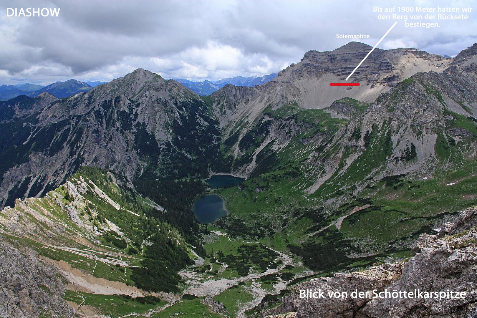 Diashow-Bergtour Soiernspitze