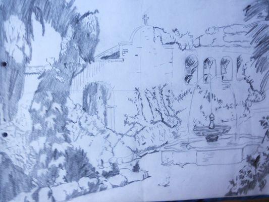 Dibujo-Convento