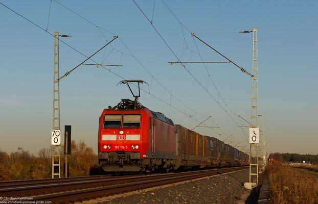 Dichter Zugverkehr...