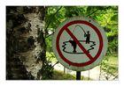 Dicke Fische ziehen verboten!