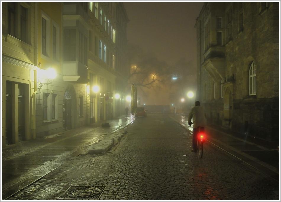 Dicke Nebelsuppe....