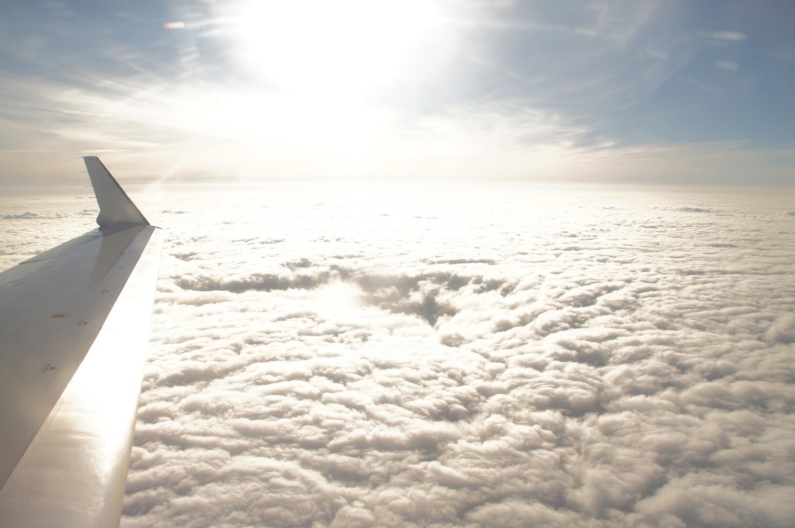 Dicke Wolkendecke