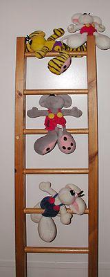 Diddl  auf  Leiter