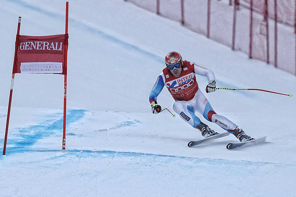 Didier Cuche-Vainqueur de la descente de Chamonix 2011