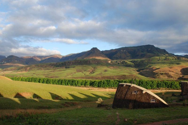 Didima Camp in den Drakensbergen