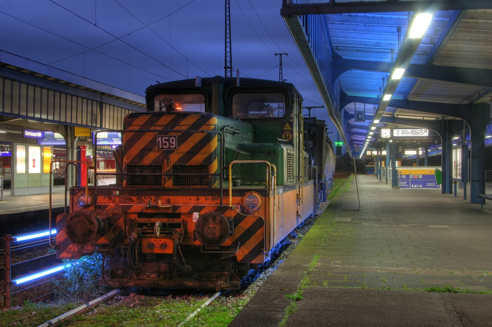 "Die ""159"" - Museumsbahnsteig Oberhausen I"