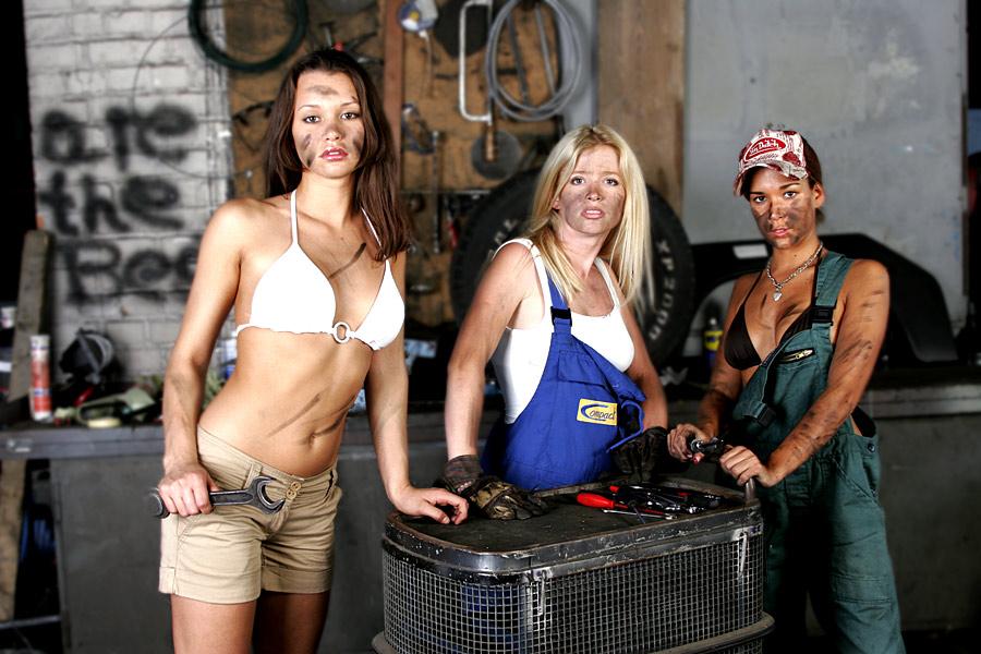 Die 3 Damen in meiner Autowerkstatt