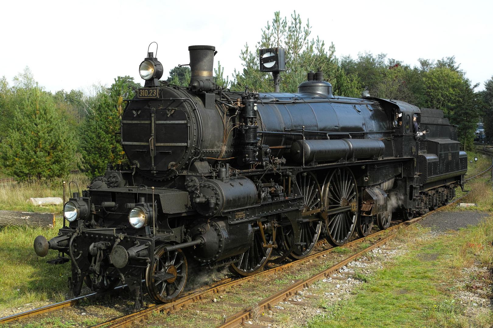 Die 310.23 im Eisenbahnmuseum Strasshof