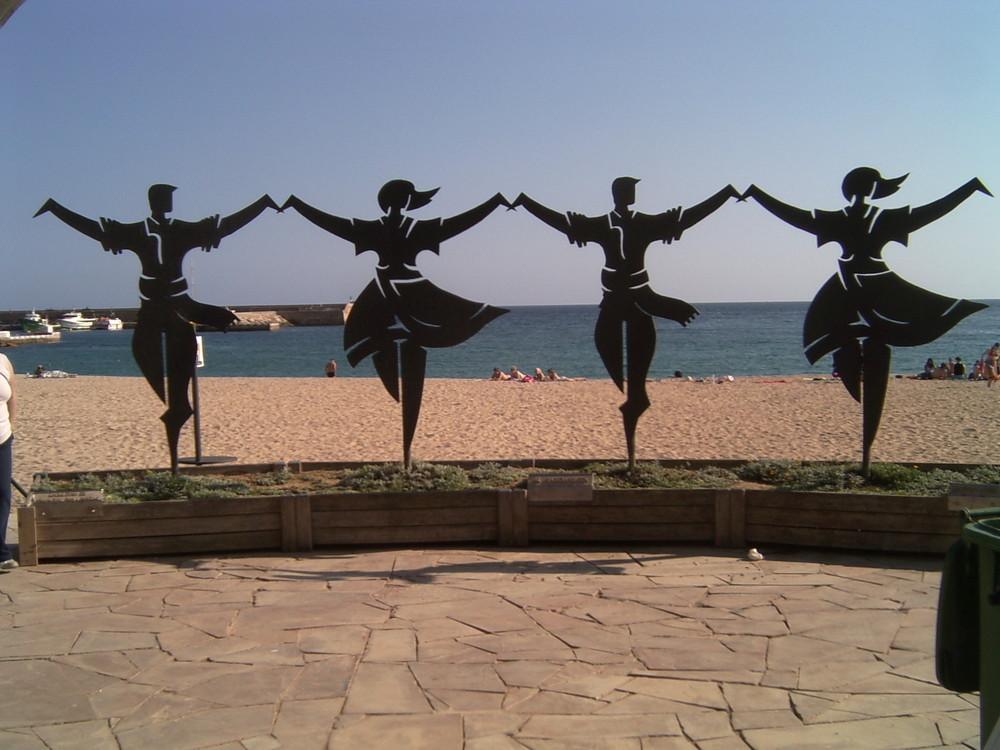 Die 4 Tänzer