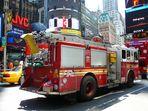 die 54 im Einsatz am Times Square NYC