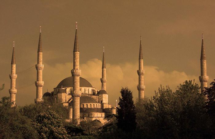 Die 6 Minaretten...