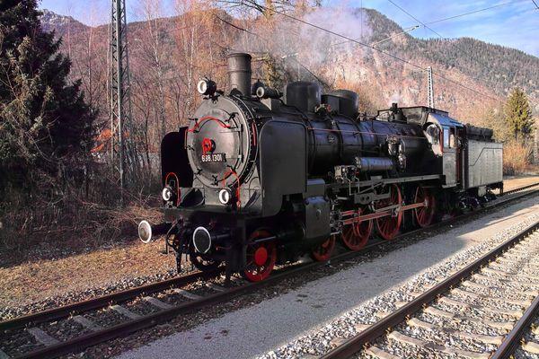 """Die 638.1301 beim """"Kopfmachen"""" in Bad Reichenhall"""