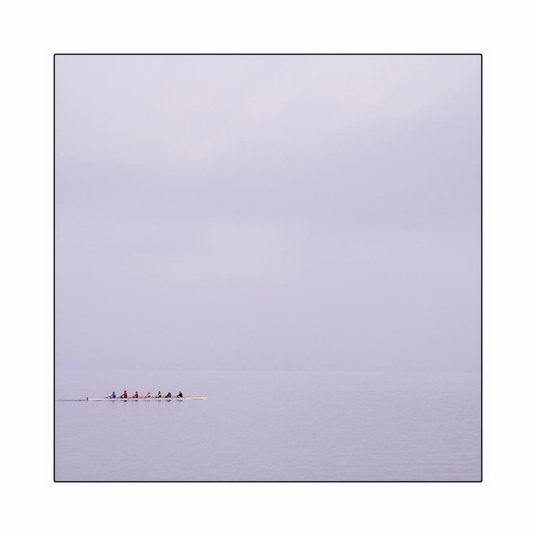 Die 7 auf einen Boot