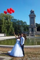 Die 7 Ballons des Glücks steigen in den 7. Himmel des jungen Paares!