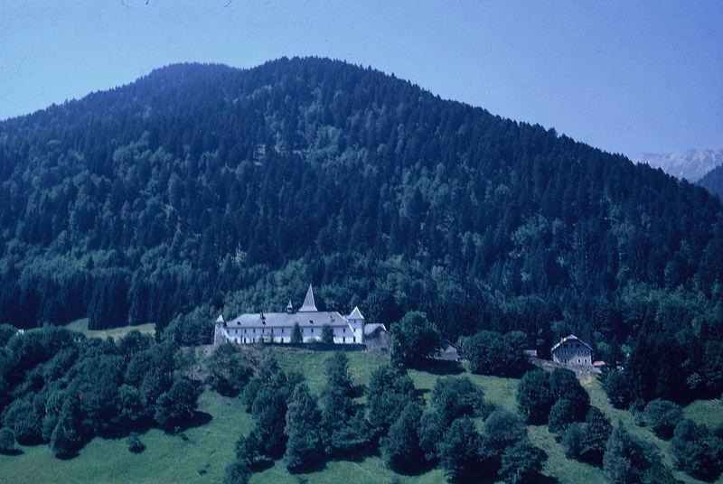 Die Abtei von Tamié