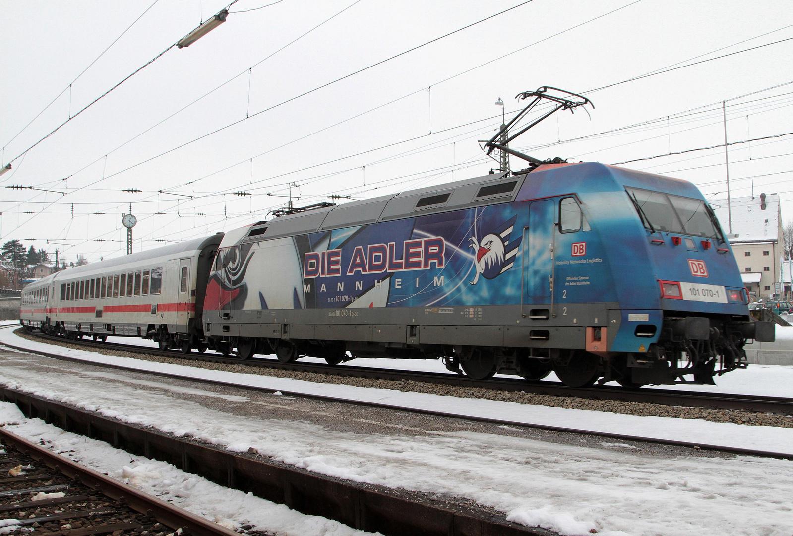 """""""Die Adler aus Mannheim"""" unterwegs"""