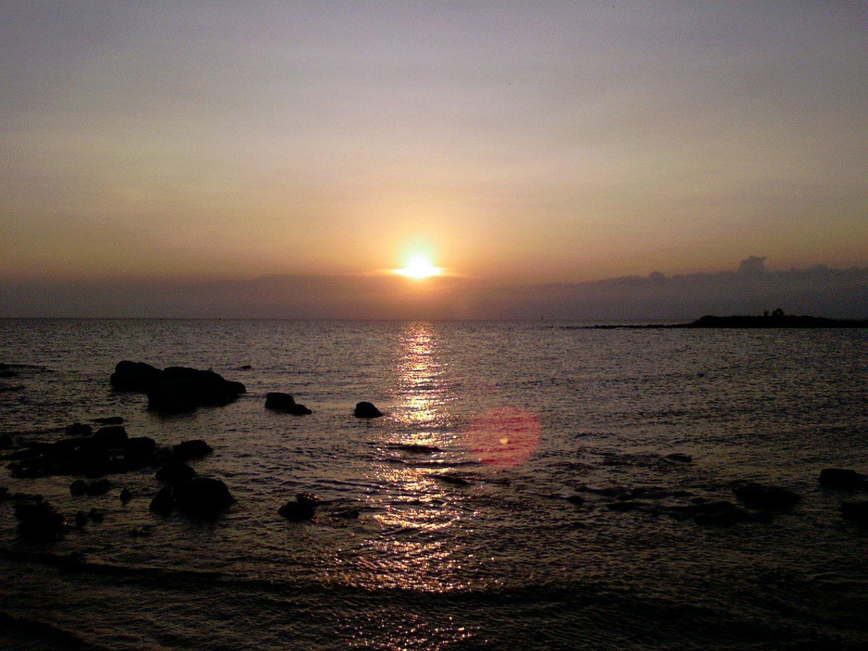 Die Adria bei Sonnenuntergang!