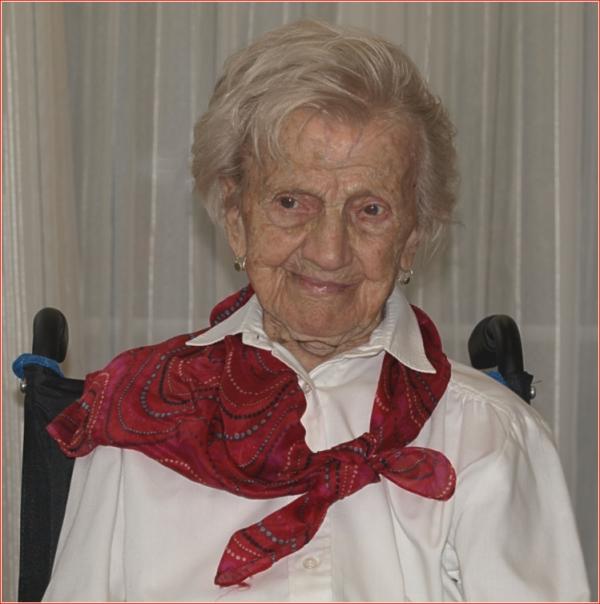 Die älteste Baslerin, 108 Jahre jung