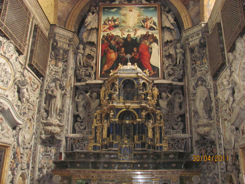 die älteste Kirche Palermos 1100-1300v. Ch.