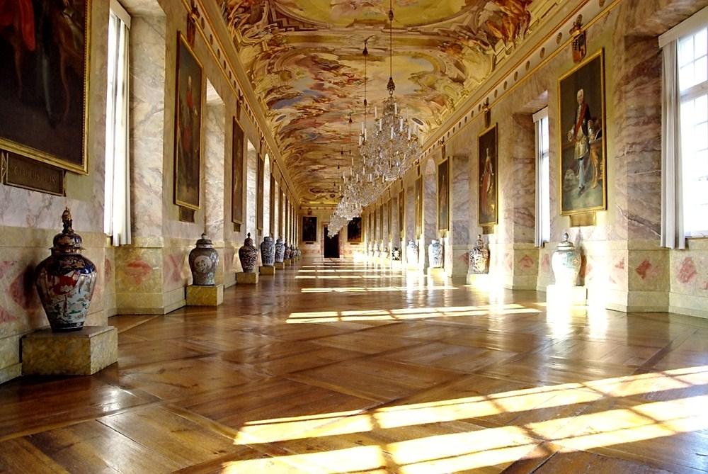 Die Ahnengalerie im Schloss Ludwigsburg