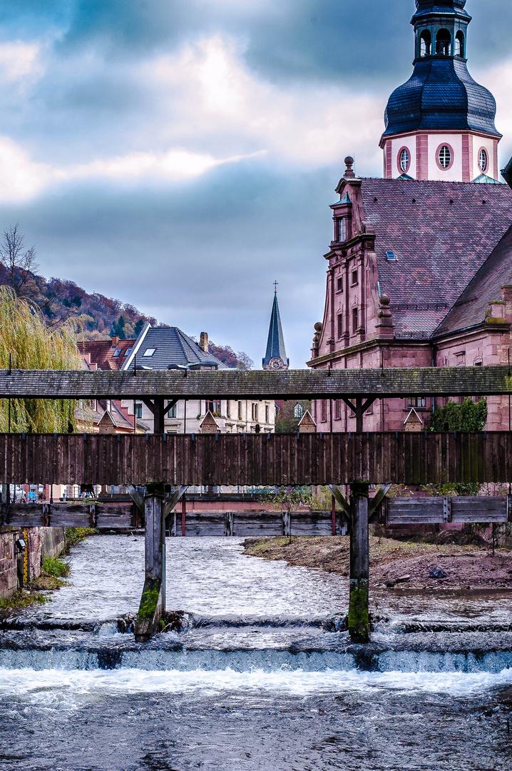 Die Alb in Ettlingen