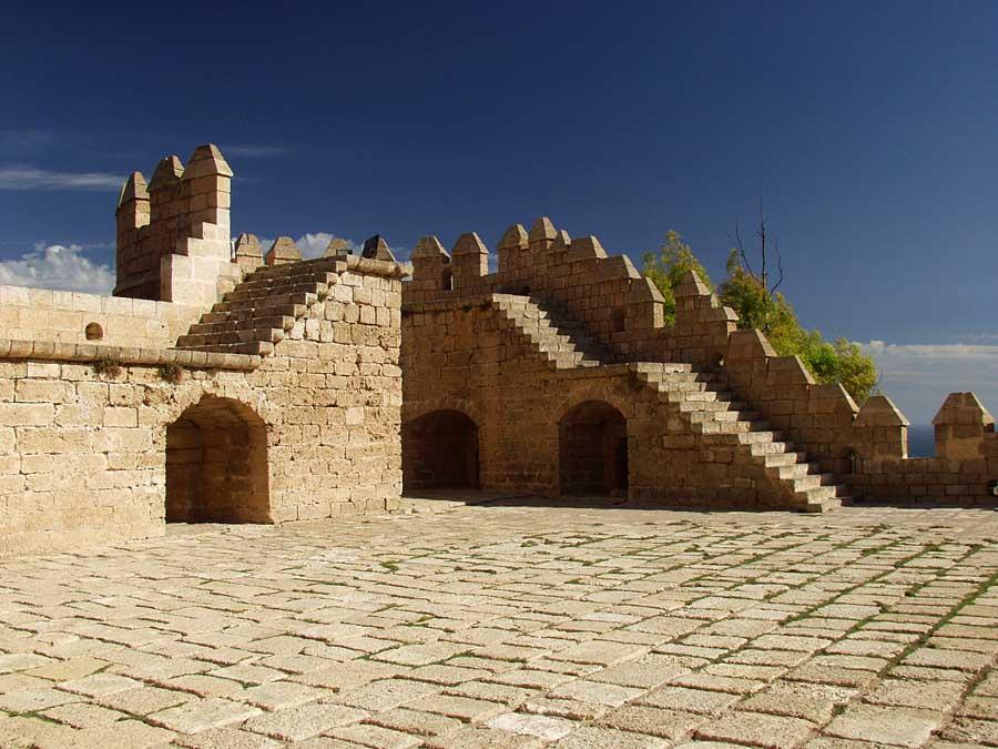 Die Alcazaba in Almería