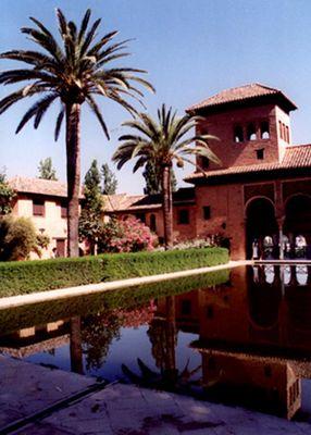 Die Alhambra - Innenansicht
