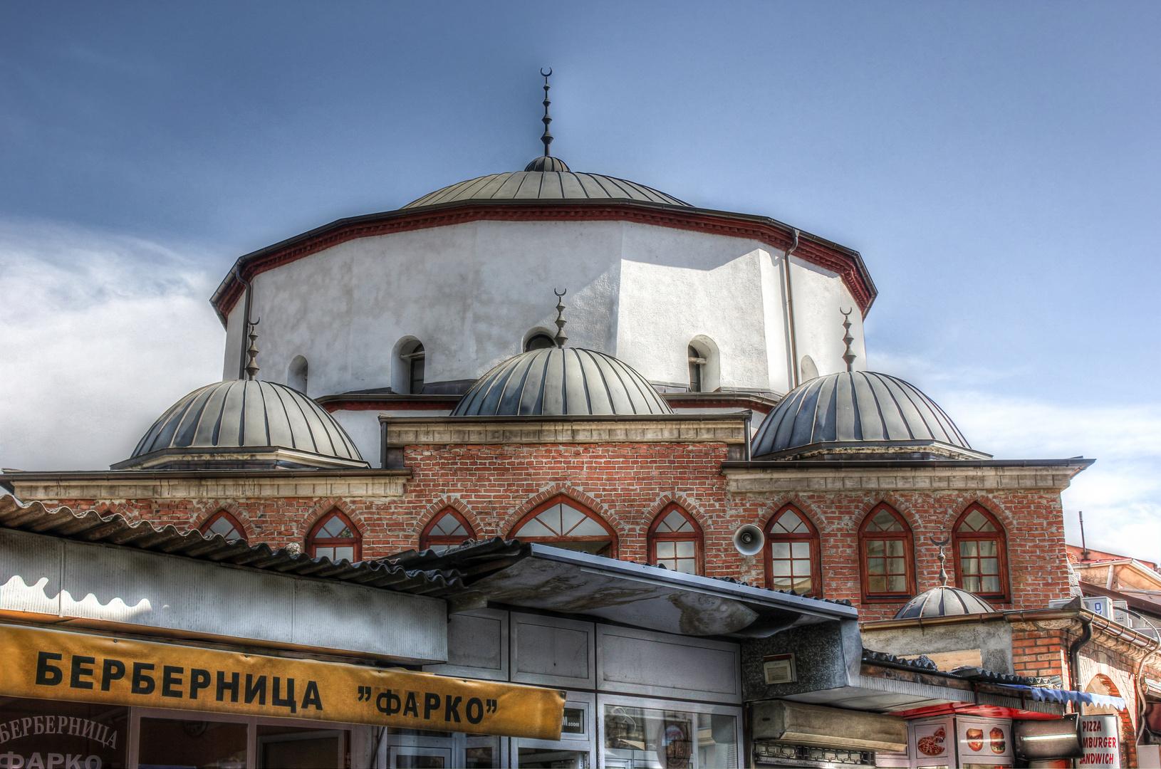 Die Ali Pascha Moschee Ohrid Mazedonien
