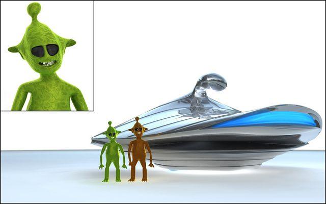 Die Aliens kommen wieder...
