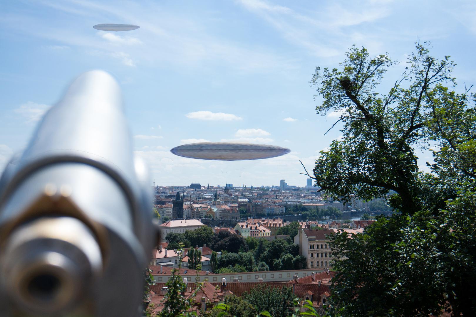 Die Aliens sind da!