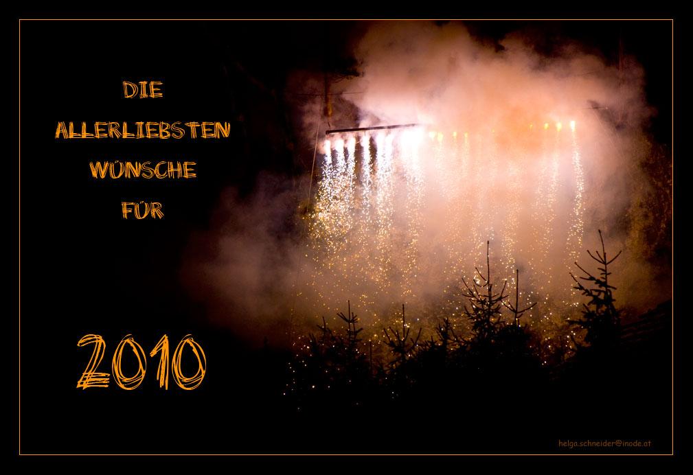 Die allerliebsten Wünsche für 2010