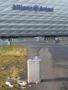 Die Allianz-Arena mal von einer anderen Seite