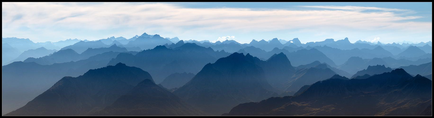 ... Die Alpen ...