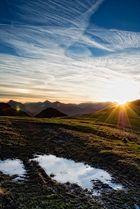 Die Alpen erwachen aus dem Schlaf II