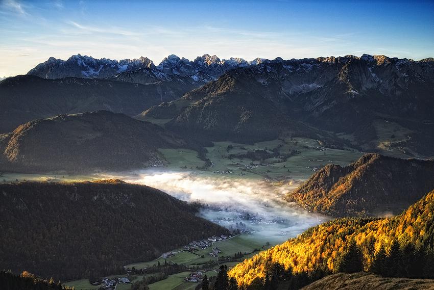 Die Alpen erwachen aus dem Schlaf IV