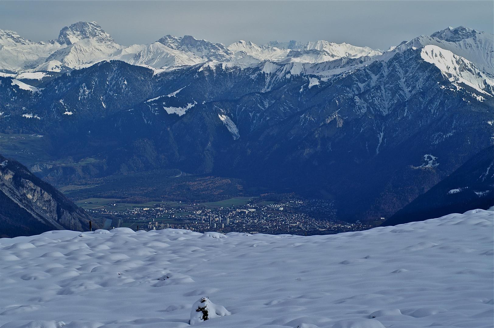 Die Alpenstadt Chur