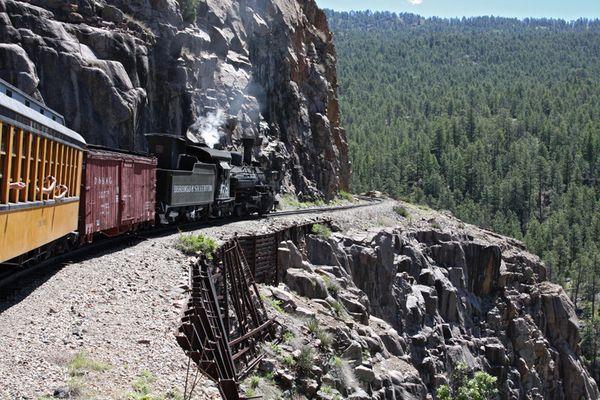 Die alte Bahn in Colorado