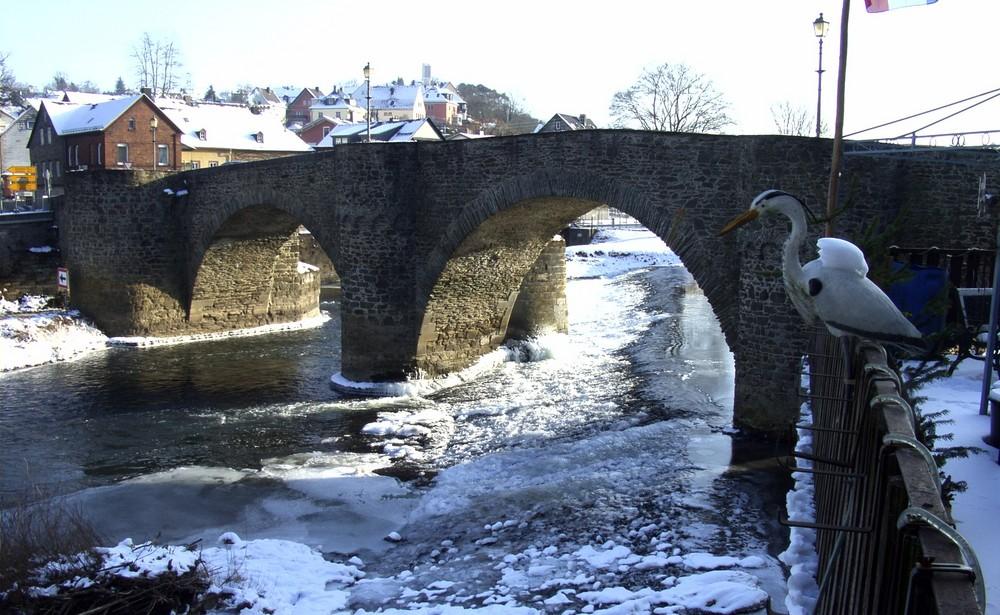 Die alte Brücke heute