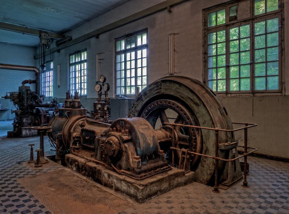 Die alte Dampfturbine von 1935