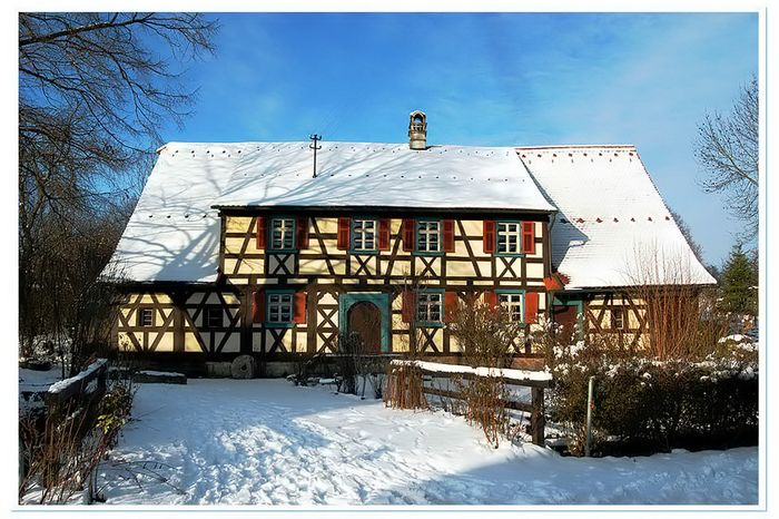 die alte Dreuschendorfer Mühle....