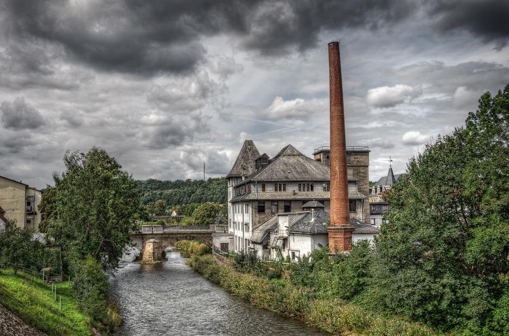 Die alte Fabrik (ein HDR-Versuch)