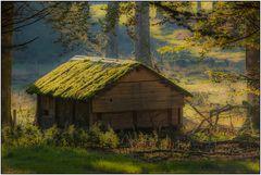 Die alte Futterhütte