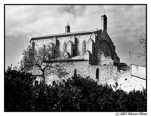 Die alte gotische Kirche