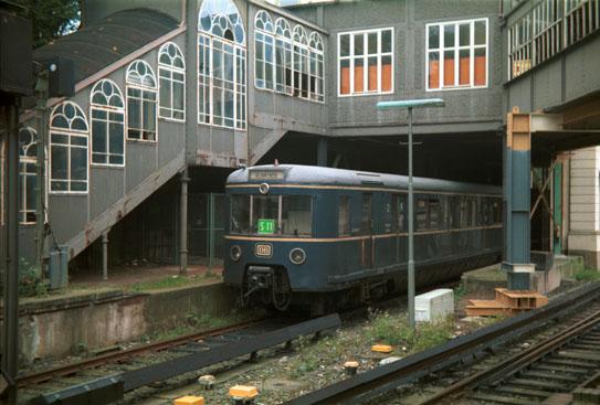 die alte Hamburger S-Bahn