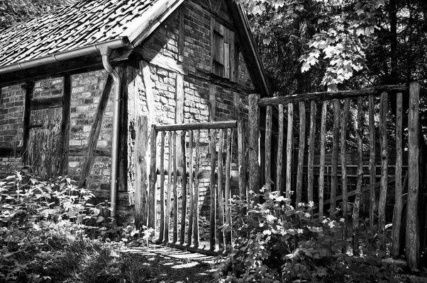 Die alte Holzpforte