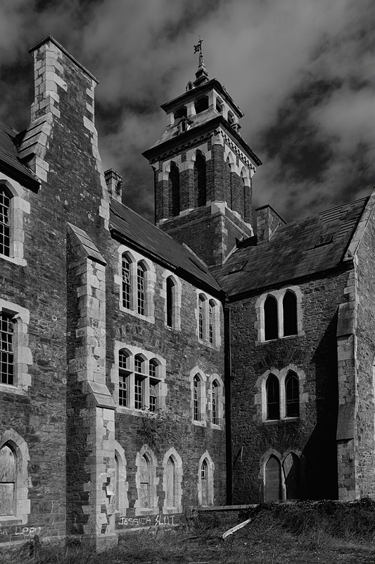 Die alte Irrenanstalt in Cork