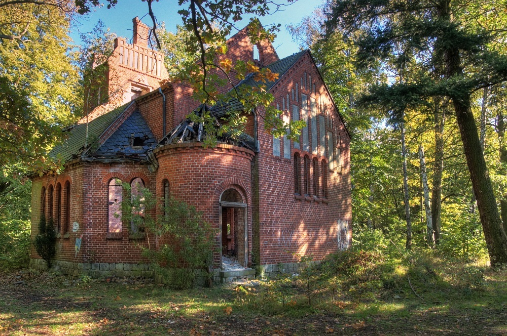 Die alte Kapelle...