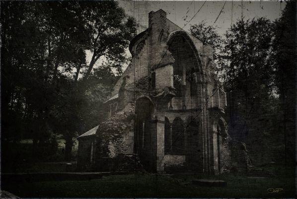 Die alte Klosterruine Heisterbach