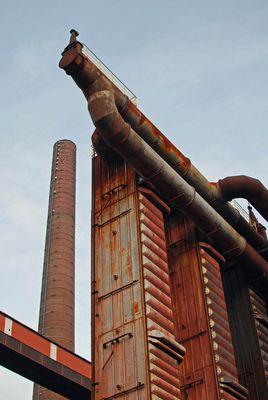 die alte Kokerei Zollverein in Essen