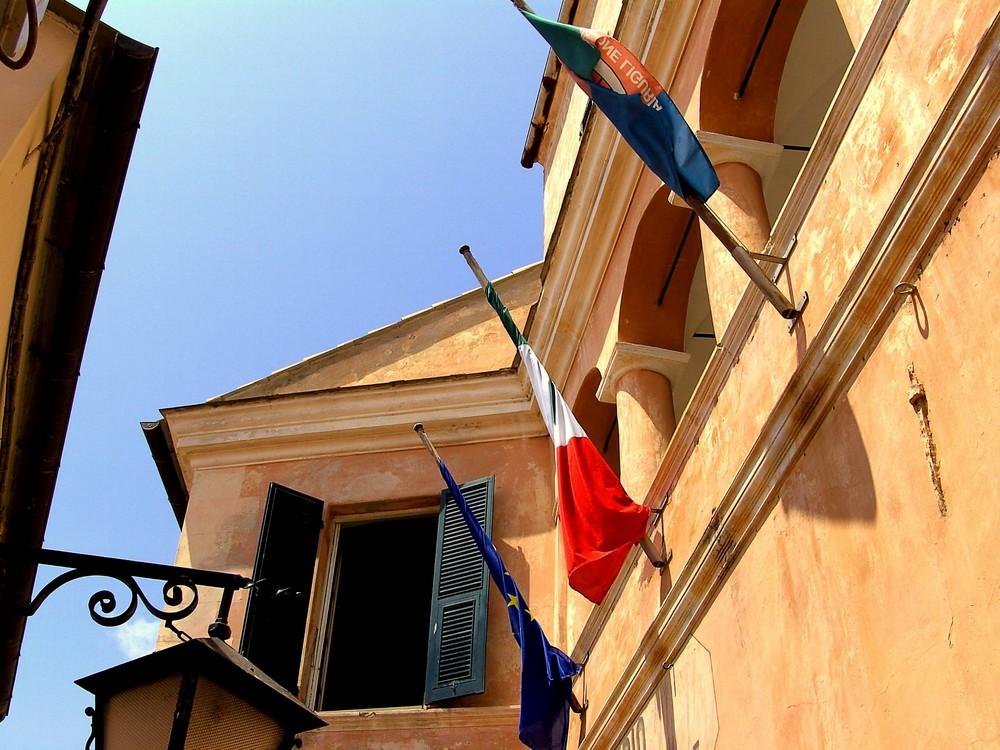 ..die alte Mädchenschule in Cervo / Riviera